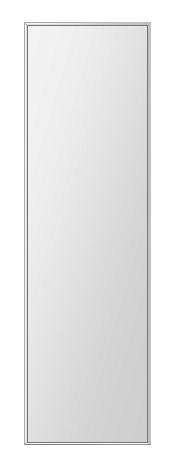 鏡 ミラー トイレ鏡 洗面鏡 化粧鏡 浴室鏡 ステンフレーム シリーズ:b-cm-h-s-4f-444mmx1494mm(四角形)(クリアーミラー 4方フレームタイプ)( 壁掛け 姿見 ステンレス フレームミラー )