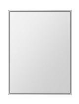 飛散防止加工 鏡 ミラー 安心 安全 ステンフレーム シリーズ:b-cm-h-s-4f-457mmx610mm-HS(四角形)(クリアーミラー 4方フレームタイプ)日本製 アイビーオリジナル洗面 浴室 風呂 トイレ 水廻り 壁掛け 姿見 鏡 専用取付金具付き