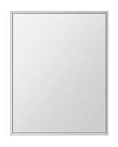 クリスタル ミラー 上下左右フレーム 500x600mm 長方形 鏡 壁掛け ミラー 壁掛け 日本製 5mm厚 玄関 リビング 寝室 トイレ 取付金具と説明書 壁に直付け 壁掛けミラー ウオールミラー 姿見 全身 おしゃれ 軽量 角型 四角 四角形