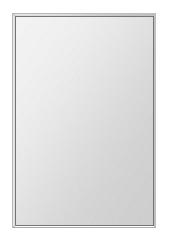 飛散防止加工 鏡 ミラー 安心 安全 ステンフレーム シリーズ:b-cm-h-s-4f-506mmx760mm-HS(四角形)(クリアーミラー 4方フレームタイプ)日本製 アイビーオリジナル洗面 浴室 風呂 トイレ 水廻り 壁掛け 姿見 鏡 専用取付金具付き