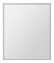 飛散防止加工 鏡 ミラー 安心 安全 ステンフレーム シリーズ(一般空間用):i-cm-h-s-4f-549mmx649mm-HS(四角形)(クリアーミラー 4方フレームタイプ)日本製 アイビーオリジナル 壁掛け鏡 ウォールミラー 姿見 鏡