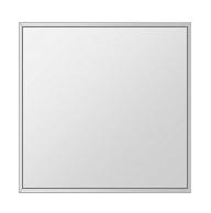 飛散防止加工 鏡 ミラー 安心 安全 ステンフレーム シリーズ:b-cm-h-s-4f-550mmx550mm-HS(四角形)(クリアーミラー 4方フレームタイプ)日本製 アイビーオリジナル洗面 浴室 風呂 トイレ 水廻り 壁掛け 姿見 鏡 専用取付金具付き