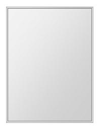 飛散防止加工 鏡 ミラー 安心 安全 ステンフレーム シリーズ:b-cm-h-s-4f-608mmx811mm-HS(四角形)(クリアーミラー 4方フレームタイプ)日本製 アイビーオリジナル洗面 浴室 風呂 トイレ 水廻り 壁掛け 姿見 鏡 専用取付金具付き