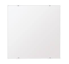 洗面鏡 浴室鏡 トイレ鏡 化粧鏡 日本製 高透過 超透明鏡 四角形 鏡 650mmx650mm スーパークリアーミラー シンプルタイプ 国産 フレームレスミラー 風呂 鏡 壁掛け鏡 壁掛けミラー ウオールミラー 姿見 姿見鏡 ミラー