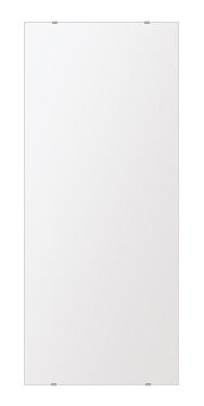 飛散防止加工 鏡 ミラー 高透過 超透明鏡 安心 安全 クリスタルミラー シリーズ:b-scm-h-s-500mmx1180mm-HS(四角形)(スーパークリアーミラー シンプルタイプ)アイビーオリジナル洗面 浴室 風呂 トイレ 水廻り 壁掛け 姿見 鏡 ミラー