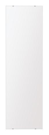 スーパークリアー ミラー 400x1450mm 長方形 シンプルカット 鏡 壁掛け ミラー 壁掛け 日本製 5mm厚 玄関 リビング 寝室 トイレ 取付金具と説明書 高透過 高精彩 壁掛け壁 壁に直付け ウオールミラー 姿見 全身 おしゃれ 軽量 角型 四角 四角形