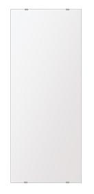 スーパークリアー ミラー 350x900mm 長方形 シンプルカット 鏡 壁掛け ミラー 壁掛け 日本製 5mm厚 玄関 リビング 寝室 トイレ 取付金具と説明書 高透過 高精彩 壁掛け壁 壁に直付け ウオールミラー 姿見 全身 おしゃれ 軽量 角型 四角 四角形