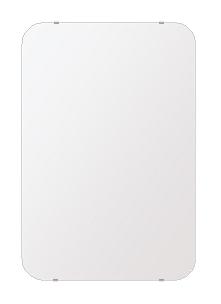 洗面鏡 浴室鏡 トイレ鏡 化粧鏡 日本製 高透過 超透明鏡 角丸四角形 鏡 608mmx912mm スーパークリアーミラー 30Rシンプルタイプ 国産 フレームレスミラー 風呂 鏡 壁掛け鏡 壁掛けミラー ウオールミラー 姿見 姿見鏡 ミラー