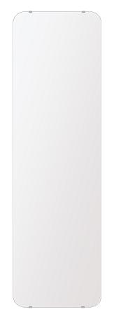 洗面鏡 浴室鏡 トイレ鏡 化粧鏡 日本製 高透過 超透明鏡 角丸四角形 鏡 444mmx1494mm スーパークリアーミラー 30Rシンプルタイプ 国産 フレームレスミラー 風呂 鏡 壁掛け鏡 壁掛けミラー ウオールミラー 姿見 姿見鏡 ミラー
