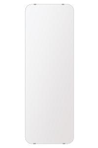 飛散防止加工 鏡 ミラー 高透過 超透明鏡 安心 安全 クリスタルミラー シリーズ:b-scm-h-s-30r-350mmx1000mm-HS(角丸四角形)(スーパークリアーミラー 30R シンプルタイプ)アイビーオリジナル 洗面 浴室 風呂 トイレ 水廻り 鏡 ミラー