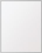 鏡 ミラー 高透過 超透明鏡 壁掛け鏡 ウォールミラー ステンフレーム シリーズ(一般空間用):i-scm-h-s-4f-500mmx640mm(四角形)(スーパークリアーミラー 4方フレームタイプ)( 壁掛け 姿見 ステンレス フレームミラー )