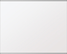 鏡 ミラー 高透過 超透明鏡 壁掛け鏡 ウォールミラー ステンフレーム シリーズ(一般空間用):i-scm-h-s-2f-w760mmxh608mm(四角形)(スーパークリアーミラー 上下2方フレームタイプ)( 壁掛け 姿見 ステンレス フレームミラー )