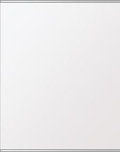 鏡 ミラー 高透過 超透明鏡 トイレ鏡 洗面鏡 化粧鏡 浴室鏡 ステンフレーム シリーズ:b-scm-h-s-2f-w608mmxh760mm(四角形)(スーパークリアーミラー 上下2方フレームタイプ)( 壁掛け 姿見 ステンレス フレームミラー )