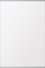 鏡 ミラー 高透過 超透明鏡 壁掛け鏡 ウォールミラー ステンフレーム シリーズ(一般空間用):i-scm-h-s-2f-w506mmxh760mm(四角形)(スーパークリアーミラー 上下2方フレームタイプ)( 壁掛け 姿見 ステンレス フレームミラー )