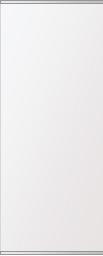 鏡 ミラー 高透過 超透明鏡 トイレ鏡 洗面鏡 化粧鏡 浴室鏡 ステンフレーム シリーズ:b-scm-h-s-2f-w360mmxh900mm(四角形)(スーパークリアーミラー 上下2方フレームタイプ)( 壁掛け 姿見 ステンレス フレームミラー )