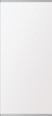 飛散防止加工 鏡 ミラー 高透過 超透明鏡 安心 安全 ステンフレーム シリーズ:b-scm-h-s-2f-w360mmxh800mm-HS(四角形)(スーパークリアーミラー 上下2方フレームタイプ)アイビーオリジナル洗面 浴室 風呂 トイレ 水廻り 壁掛け 姿見 鏡 専用取付金具付き