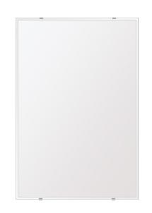 洗面鏡 浴室鏡 トイレ鏡 化粧鏡 日本製 高透過 超透明鏡 四角形 鏡 608mmx912mm スーパークリアーミラー クリスタルカット 国産 フレームレスミラー 風呂 鏡 壁掛け鏡 壁掛けミラー ウオールミラー 姿見 姿見鏡 ミラー