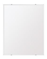 飛散防止加工 鏡 ミラー 高透過 超透明鏡 安心 安全 クリスタルミラー シリーズ:b-scm-h-4m-608mmx760mm-HS(四角形)(スーパークリアーミラー クリスタルカットタイプ)アイビーオリジナル洗面 浴室 風呂 トイレ 水廻り 壁掛け 姿見 鏡 ミラー