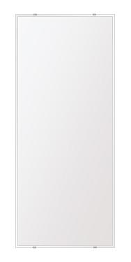 洗面鏡 浴室鏡 トイレ鏡 化粧鏡 日本製 高透過 超透明鏡 四角形 鏡 500mmx1180mm スーパークリアーミラー クリスタルカット 国産 フレームレスミラー 風呂 鏡 壁掛け鏡 壁掛けミラー ウオールミラー 姿見 姿見鏡 ミラー