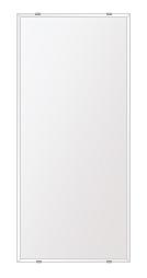 洗面鏡 浴室鏡 トイレ鏡 化粧鏡 日本製 高透過 超透明鏡 四角形 鏡 360mmx800mm スーパークリアーミラー クリスタルカット 国産 フレームレスミラー 風呂 鏡 壁掛け鏡 壁掛けミラー ウオールミラー 姿見 姿見鏡 ミラー