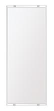 スーパークリアー ミラー 250x700mm 長方形 クリスタルカット 鏡 壁掛け ミラー 壁掛け 日本製 5mm厚 玄関 リビング 寝室 トイレ 取付金具と説明書 高透過 高精彩 壁掛け壁 壁に直付け ウオールミラー 姿見 全身 おしゃれ 軽量 角型 四角 四角形