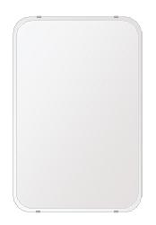 洗面鏡 浴室鏡 トイレ鏡 化粧鏡 日本製 高透過 超透明鏡 角丸四角形 鏡 506mmx760mm スーパークリアーミラー 30Rクリスタルカット 国産 フレームレスミラー 風呂 鏡 壁掛け鏡 壁掛けミラー ウオールミラー 姿見 姿見鏡 ミラー