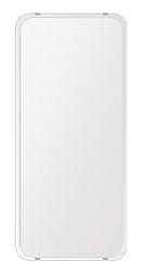 洗面鏡 浴室鏡 トイレ鏡 化粧鏡 日本製 高透過 超透明鏡 角丸四角形 鏡 360mmx800mm スーパークリアーミラー 30Rクリスタルカット 国産 フレームレスミラー 風呂 鏡 壁掛け鏡 壁掛けミラー ウオールミラー 姿見 姿見鏡 ミラー