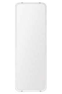 洗面鏡 浴室鏡 トイレ鏡 化粧鏡 日本製 高透過 超透明鏡 角丸四角形 鏡 350mmx1000mm スーパークリアーミラー 30Rクリスタルカット 国産 フレームレスミラー 風呂 鏡 壁掛け鏡 壁掛けミラー ウオールミラー 姿見 姿見鏡 ミラー
