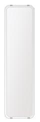 鏡 壁掛け 鏡 ミラー 日本製 高透過 超透明鏡 角丸四角形 鏡 200mmx800mm スーパークリアーミラー 30Rクリスタルスカット 国産 フレームレスミラー 壁掛け鏡 壁掛けミラー ウォールミラー 姿見 姿見鏡 インテリアミラー (リビング、玄関、廊下、寝室など一般空間用)