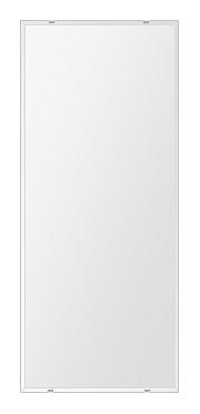 洗面鏡 浴室鏡 トイレ鏡 化粧鏡 日本製 四角形 500mmx1180mm クリアーミラー クリスタルカット 国産 フレームレスミラー 風呂 鏡 壁掛け鏡 壁掛けミラー ウオールミラー 姿見 姿見鏡 ミラー