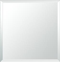 鏡 ミラー ウォールミラー 壁掛け鏡:クリスタルミラー セレクト スクエア(通常の鏡)