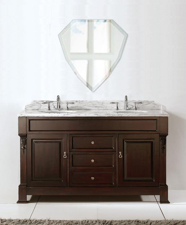 飛散防止加工 鏡 ミラー 安心 安全 クリスタルミラー シリーズ:cdx-shield450x470-18mm-HS(シールド)(クリアーミラー デラックスカットタイプ)日本製 アイビーオリジナル洗面 浴室 風呂 トイレ 水廻り 壁掛け 姿見 鏡