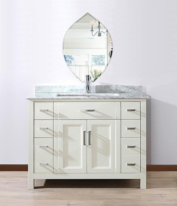 洗面鏡 浴室鏡 トイレ鏡 化粧鏡 日本製 高透過 超透明鏡 リーク 430mm×600mm スーパークリアーミラー クリスタルカット 国産 フレームレスミラー 風呂 鏡 壁掛け鏡 壁掛けミラー ウオールミラー 姿見 姿見鏡 ミラー