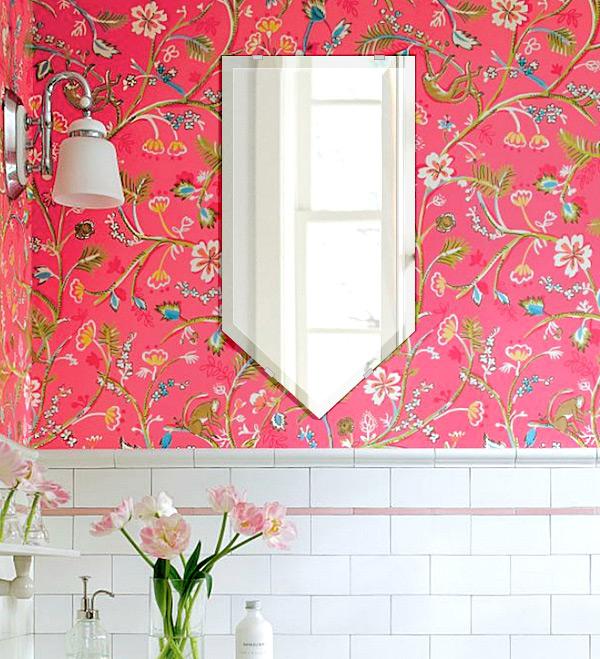 洗面鏡 浴室鏡 トイレ鏡 化粧鏡 日本製 ブリット 320mm×600mm クリアーミラー デラックスカット 国産 フレームレスミラー 風呂 鏡 壁掛け鏡 壁掛けミラー ウオールミラー 姿見 姿見鏡 ミラー
