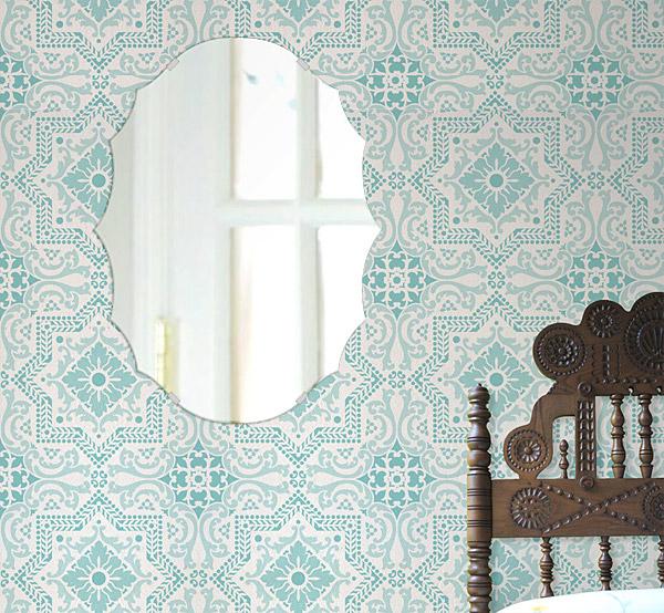 鏡 壁掛け 鏡 ミラー 日本製 高透過 超透明鏡 クレスト(波頭形状) 400mm×533mm スーパークリアーミラー シンプルタイプ 国産 フレームレスミラー 壁掛け鏡 壁掛けミラー ウォールミラー 姿見 姿見鏡 インテリアミラー (リビング、玄関、廊下、寝室など一般空間用)