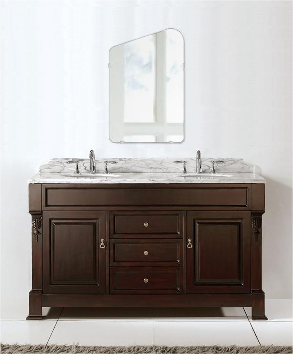 洗面鏡 浴室鏡 トイレ鏡 化粧鏡 日本製 高透過 超透明鏡 アイスバーグ(氷山形) 400mm×610mm クリアーミラー シンプルタイプ 国産 フレームレスミラー 風呂 鏡 壁掛け鏡 壁掛けミラー ウオールミラー 姿見 姿見鏡 ミラー