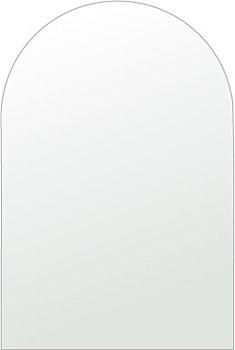 洗面鏡 浴室鏡 トイレ鏡 化粧鏡 日本製 アーチ(天丸形) 350mm×450mm クリアーミラー シンプルタイプ 国産 フレームレスミラー 風呂 鏡 壁掛け鏡 壁掛けミラー ウオールミラー 姿見 姿見鏡 ミラー