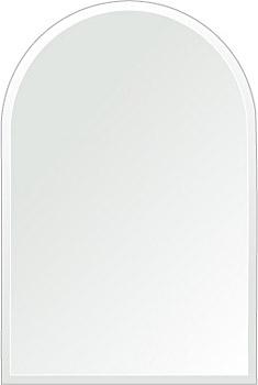 クリスタル ミラー 300x450mm アーチ形状 クリスタルカット 鏡 壁掛け ミラー 壁掛け 日本製 5mm厚 玄関 リビング 寝室 トイレ 取付金具と説明書 壁掛け鏡 壁に直付け ウオールミラー 姿見 全身 おしゃれ 軽量 天丸形