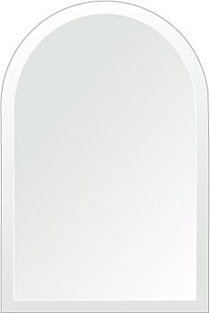 クリスタル ミラー 洗面鏡 浴室鏡 300x450mm アーチ形状 デラックスカット 洗面 鏡 浴室 壁掛け ミラー 日本製 5mm厚 取付金具と説明書 壁掛け鏡 ウオールミラー 防湿鏡 姿見 全身 おしゃれ 軽量 天丸形 洗面台 防湿 お風呂