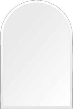 飛散防止加工 鏡 ミラー 高透過 超透明鏡 安心 安全 クリスタルミラー シリーズ:scdx-arch300x450-9mm-HS(アーチ)(スーパークリアーミラー クリスタルカットタイプ)アイビーオリジナル 洗面 浴室 風呂 トイレ 鏡 ミラー