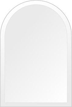 洗面鏡 浴室鏡 トイレ鏡 化粧鏡 日本製 高透過 超透明鏡 アーチ(天丸形) 300mm×450mm スーパークリアーミラー デラックスカット 国産 フレームレスミラー 風呂 鏡 壁掛け鏡 壁掛けミラー ウオールミラー 姿見 姿見鏡 ミラー