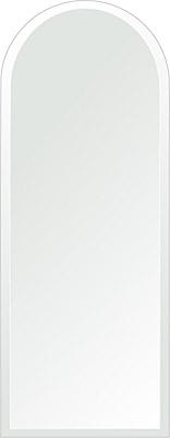 クリスタル ミラー 洗面鏡 浴室鏡 350x900mm アーチ形状 デラックスカット 洗面 鏡 浴室 壁掛け ミラー 日本製 5mm厚 取付金具と説明書 壁掛け鏡 ウオールミラー 防湿鏡 姿見 全身 おしゃれ 軽量 天丸形 洗面台 防湿 お風呂