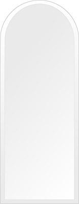 鏡 壁掛け 鏡 ミラー 日本製 高透過 超透明鏡 アーチ(天丸形) 350mm×900mm スーパークリアーミラー デラックスカット 国産 フレームレスミラー 壁掛け鏡 壁掛けミラー ウォールミラー 姿見 姿見鏡 インテリアミラー (リビング、玄関、廊下、寝室など一般空間用)