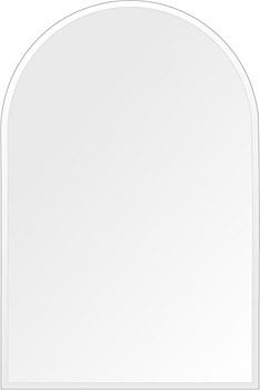 スーパークリアー ミラー 400x600mm アーチ形状 クリスタルカット 鏡 壁掛け ミラー 壁掛け 日本製 5mm厚 玄関 リビング 寝室 トイレ 取付金具と説明書 高透過 高精彩 壁掛け壁 壁に直付け ウオールミラー 姿見 全身 おしゃれ 軽量 天丸形