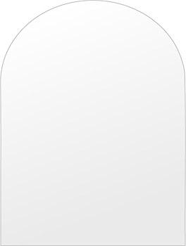 鏡 壁掛け 鏡 ミラー 日本製 高透過 超透明鏡 アーチ(天丸形) 450mm×600mm スーパークリアーミラー シンプルタイプ 国産 フレームレスミラー 壁掛け鏡 壁掛けミラー ウォールミラー 姿見 姿見鏡 インテリアミラー (リビング、玄関、廊下、寝室など一般空間用)