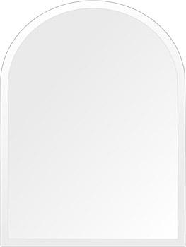 飛散防止加工 鏡 ミラー 高透過 超透明鏡 安心 安全 クリスタルミラー シリーズ:scdx-arch450x600-18mm-HS(アーチ)(スーパークリアーミラー デラックスカットタイプ)アイビーオリジナル 洗面 浴室 風呂 トイレ 鏡 ミラー