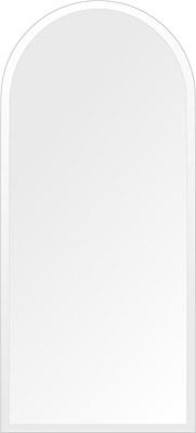飛散防止加工 鏡 ミラー 高透過 超透明鏡 安心 安全 クリスタルミラー シリーズ:scdx-arch450x1000-18mm-HS(アーチ)(スーパークリアーミラー デラックスカットタイプ)アイビーオリジナル 洗面 浴室 風呂 トイレ 鏡 ミラー