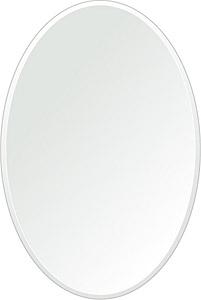 クリスタル ミラー 400x600mm 楕円形 クリスタルカット 鏡 壁掛け ミラー 壁掛け 日本製 5mm厚 玄関 リビング 寝室 トイレ 取付金具と説明書 壁掛け鏡 壁に直付け ウオールミラー 姿見 全身 おしゃれ 軽量 楕円 丸 長丸 丸い オーバル