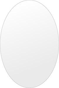 洗面鏡 浴室鏡 トイレ鏡 化粧鏡 日本製 高透過 超透明鏡 楕円形 鏡 400mm×600mm スーパークリアーミラー シンプルタイプ 国産 フレームレスミラー 風呂 鏡 壁掛け鏡 壁掛けミラー ウオールミラー 姿見 姿見鏡 ミラー