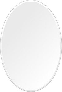 鏡 ミラー 高透過 超透明鏡 トイレ鏡 洗面鏡 化粧鏡 浴室鏡 クリスタルミラー シリーズ:scdx-oval400x600-9mm(オーバル)(スーパークリアーミラー クリスタルカットタイプ)( 鏡 壁掛け 鏡 姿見 壁掛けミラー ウォールミラー )
